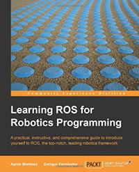 دانلود کتاب learning ros for robotics programming