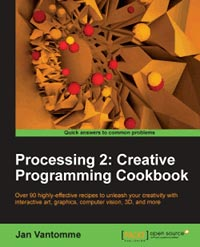 دانلود کتاب Processing 2 Creative Programming Cookbook