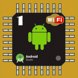 پروژه led flasher ماژول esp8266 12e با android و شبکه داخلی